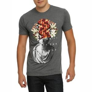 Hot Topic Panic! At the Disco Flower Head T-Shirt